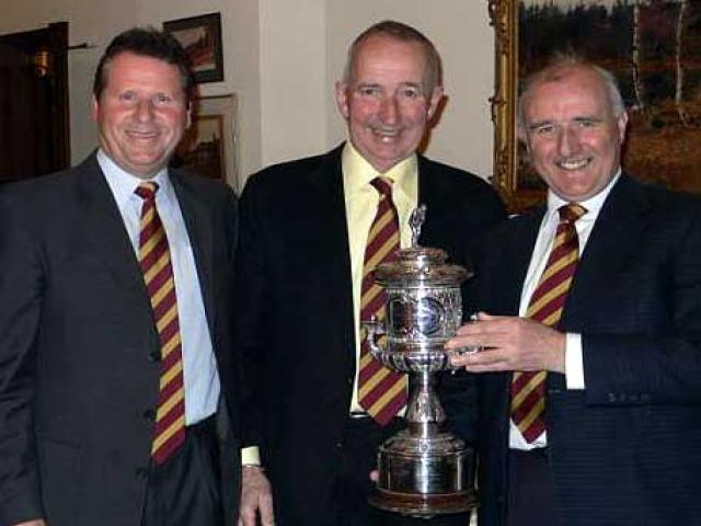 L to R  Peter Featherstone, Peter<br /> <br /> Batchelor and John Smith
