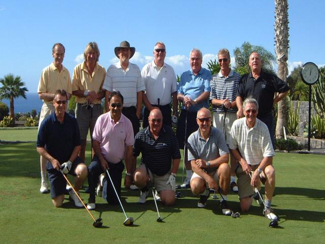 Back row<br /> Mike Wooding, David Esser, Butch Ash<br /> Mike Warnes, Tony Worthy, Don Baynham, Stan Chichsand.<br /> Front Row<br /> Peter Featherstone, Vip Khanna, Alec McHale, John Smith, Ray Fisher.